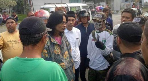 Demo yang Diduga Membela Paham Komunis Berhasil Digagalkan Ormas di Bukittinggi