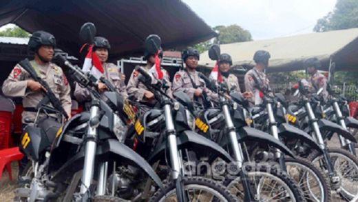 60 Personel Brimob Pilihan Siap Atasi Maraknya Kejahatan Jalanan di Padang