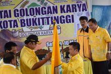 Musda IX DPD Partai Golkar Bukittinggi Tetapkan Jhon Edwar Sebagai Ketua DPD Periode 2016 -2021
