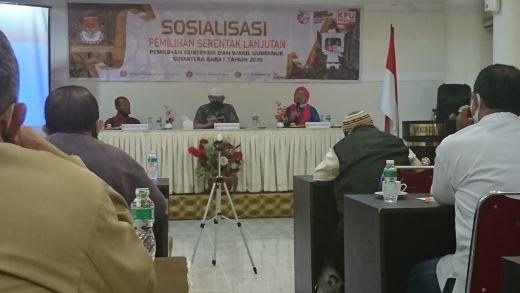 Partisipasi Pemilih Rendah di Pilgub Sebelumnya, KPU Gelar Sosialisasi dengan Jurnalis Padang Panjang