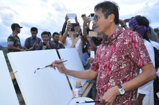 Festival Seni Rupa Pariangan Tanah Datar Ungkapan Indahnya Sumatera Barat