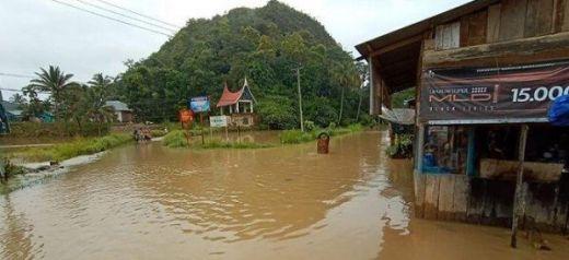 6 Kecamatan di Limapuluh Kota Terendam Banjir, Puluhan KK Mengungsi