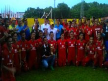 Kesebelasan Kecamatan Koto Tangah Wakili Kota Padang ke Final Irman Gusman Cup 2016