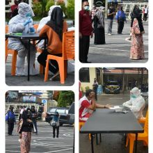 Hari Ini, Puluhan Orang Jalani Rapid Test di Mapolres Bukittinggi