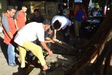 Sebelum Berbuka, Walikota Padang Tinjau Fasilitas Umum di Jalan Hiligoo