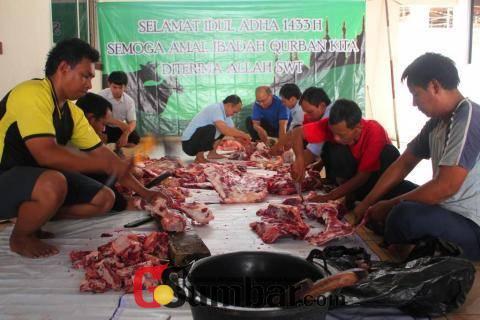 Kantong Plastik Hitam Berbahaya Buat Pembungkus Daging Qurban