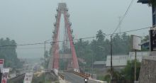 Dharmasraya Diselimuti kabut Asap, Warga Diimbau Kurangi Aktivitas di Luar Rumah