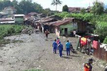 Sempat Mengungsi Semalam, Korban Banjir di Bukittinggi Kembali ke Rumah