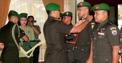 Tiga Komandan Kodim di Sumbar Lakukan Sertijab