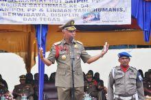Sat Pol PP dan Satlinmas Peringati Hari Jadi, Walikota Padang: Tegakan Perda Harus Humanis, Tegas dan Berwibawa!