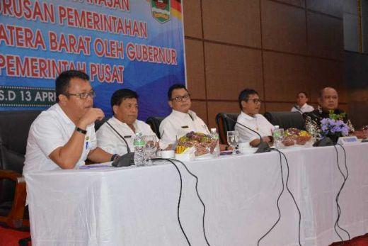 Gubernur Sumbar Apresiasi Bupati dan Walikota yang Utamakan Rapat Koordinasi