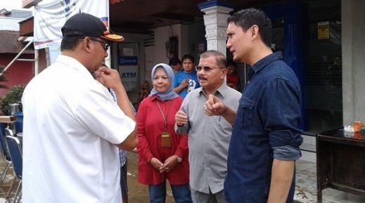 Tinjau Kawasan Terdampak Banjir dan Longsor, Bupati Padangpariaman Janji Benahi Daerah Rawan Bencana