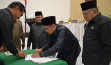 DPRD Sawahlunto Setuju Ranperda LPJP APBD 2018 Disahkan Jadi Perda