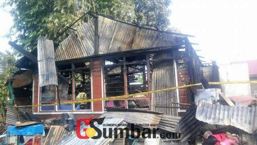 Ditinggal Baralek, 4 Rumah Terbakar di Salimpat Lembah Gumanti Solok