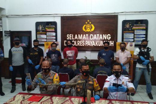Lima Pelaku Pengeroyokan Berujung Eewas Ditangkap Polres Payakumbuh