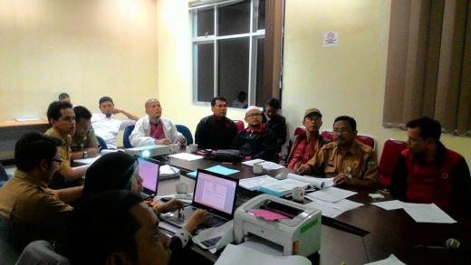 Sekretariat Kota Padang Panjang Kebut Pembahasan RKA APBDP 2016