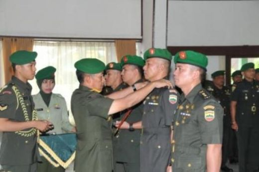 Danrem 032/Wirabraja Pimpin Sertijab Tiga Dandim