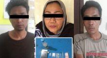 Alamak... Caleg Perempuan Tertangkap Nyabu Bersama 2 Pria di Tanah Datar