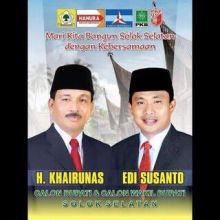 Khairunas-Edi Susanto Berpeluang Geser Perolehan Suara Muzni-Abdul Rahman di Pilkada Solsel