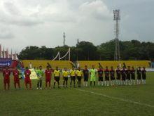 Babak Penyisihan Irman Gusman Cup di Kota Padang, Koto Tangah Kalahkan Padang Utara 1-0