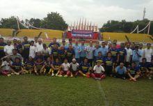 Pembukaan Turnaman Sepakbola Irman Gusman Cup Berlangsung Meriah