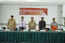 Sosialisasi Sensus Ekonomi 2016, Walikota Padang Panjang: Ayo Sukseskan SE 2016!