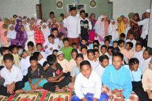 Wako Mahyeldi Buka Pesantren Ramadan di Koto Pulai, Wawako di Parak Rumbio