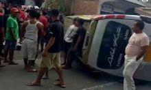 Tabrak 2 Bocah di Depan Sekolah, Sopir PO Sinamar Diburu Polisi