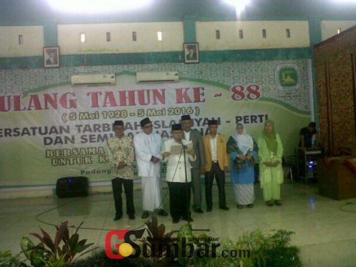 Diiringi Pekik Allahuakbar!, Perti dan Tarbiyah Islamiyah di Sumbar Resmi Islah