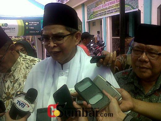 Pasca Islah, Warga Tarbiyah Sumbar Bentuk Forum Persatuan Tarbiyah Islamiyah-Perti Sumbar Bersatu
