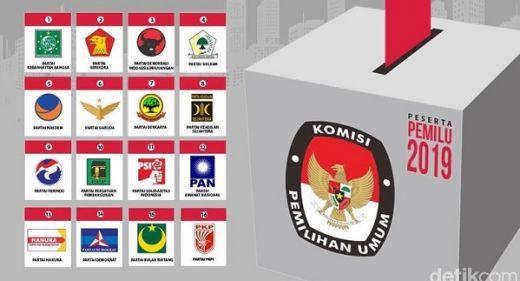 Gerindra dan PAN Raih 3 Kursi DPR RI di Sumbar, PDIP Kosong