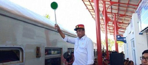 Dukung Pengembangan Wisata, Kemenhub Lanjutkan Reaktivasi Jalur Kereta Api di Sumbar