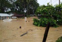Ratusan Rumah Terendam Banjir di Ujung Gading Pasaman Barat