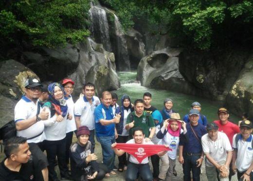 Kembangkan Pariwisata, Bupati Padang Pariaman Ajak Keluarga Asita Sumbar Nikmati Lubuk Nyarai Nan Menantang