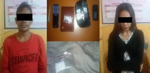 Polres Dharmasraya Tangkap 2 Pengedar Narkoba di Perumnas Nili Indah