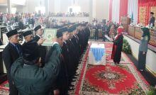 30 Anggota DPRD Dharmasraya Dilantik, 21 di Antaranya Wajah Baru