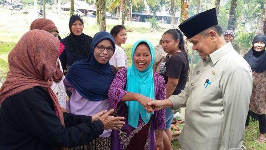 Wawako Emzalmi Hadiri Ritual Mambukak Kapalo Banda di Padang Sarai