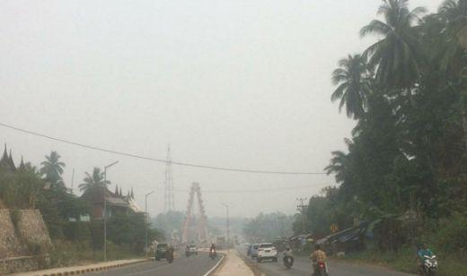 Kabut Asap Makin Tebal, Kualitas Udara Sumbar Tidak Sehat