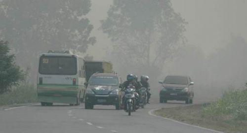 Kualitas Udara Dharmasraya Paling Buruk dan tidak Sehat