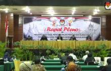KPU Tetapkan Erman Safar - Marfendi Pemenang Pilkada Bukittinggi 2020