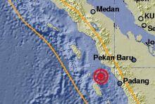 Gempa 5,2 SR Goyang Pariaman dan Terasa Sampai ke Padang