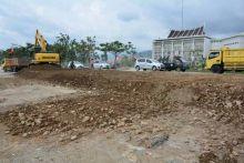 Pemko Padang Perbaiki Sarana Jalan, Pengerjaan Jalur II By Pass Terus Dikebut
