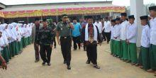 Waaster Kasad Mabes TNI Hadiri Doa Bersama untuk NKRI di Ponpes Al Barokah Dharmasraya