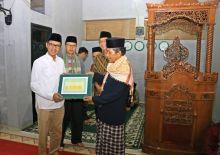 Masjid Arafah Tanjung Gadang Dibantu Gubernur Sumbar Rp20 Juta