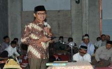 Datangi Masjid Nurul Ikhlas Andalas Padang, Gubernur Ajak Warga Sukseskan Maghrib Mengaji