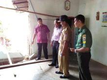 Tinjau Lokasi Tanah Terban, Ketua DPRD Padang Minta BPBD Atasi Bencana