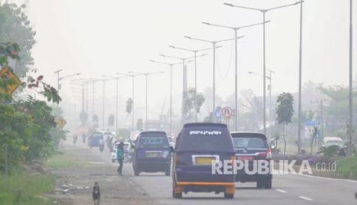 Kabut Asap Makin Tebal, Masyarakat di Tanah Datar Mulai Merasakan Mata Perih