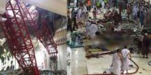Innalillahi... Jamaah Asal Bukittinggi Meninggal Akibat Crane Jatuh di Masjidil Haram
