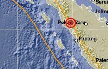 Warga Pasaman Barat Dikagetkan Gempa 3,0 SR