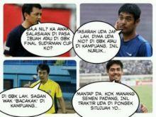 Beredar, Meme Lucu Duo Pelatih Minang Jelang Final di GBK Bikin Ngakak